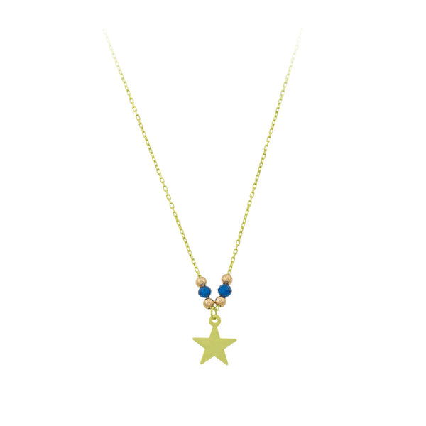 Coloured Gems with Star Necklace