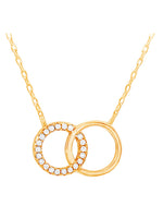 Interlocking Rings Necklace