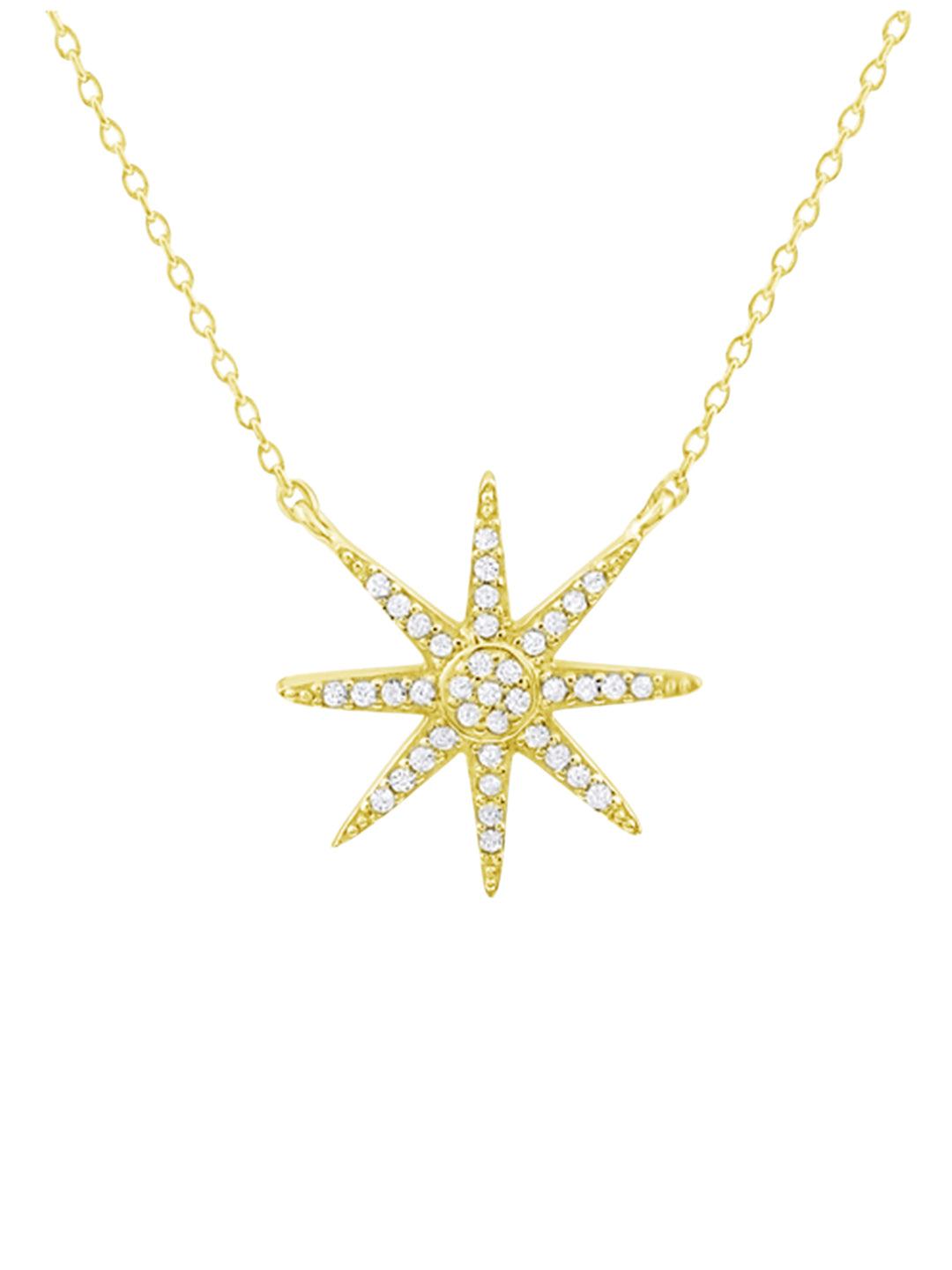 Outreaching Star Necklace
