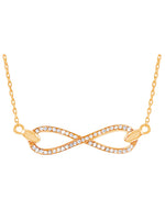 Slender Infinity Necklace