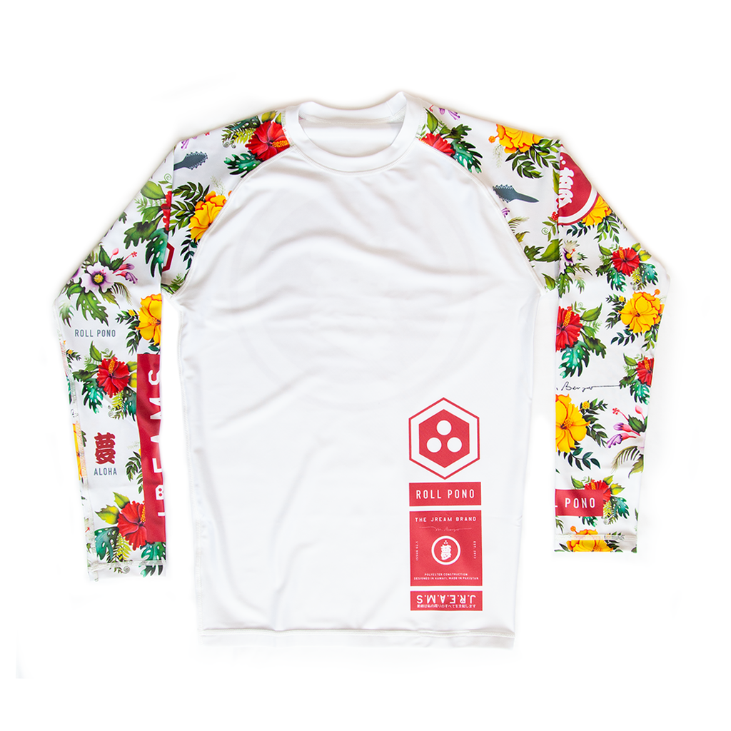 Issue: 02 Roll Pono Rash Guard LS