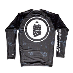 02.1 Roll Pono Umbra Rash Guard LS