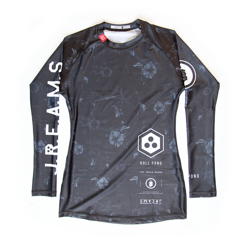 Issue: 02.1 Roll Pono Umbra Women's Rash Guard
