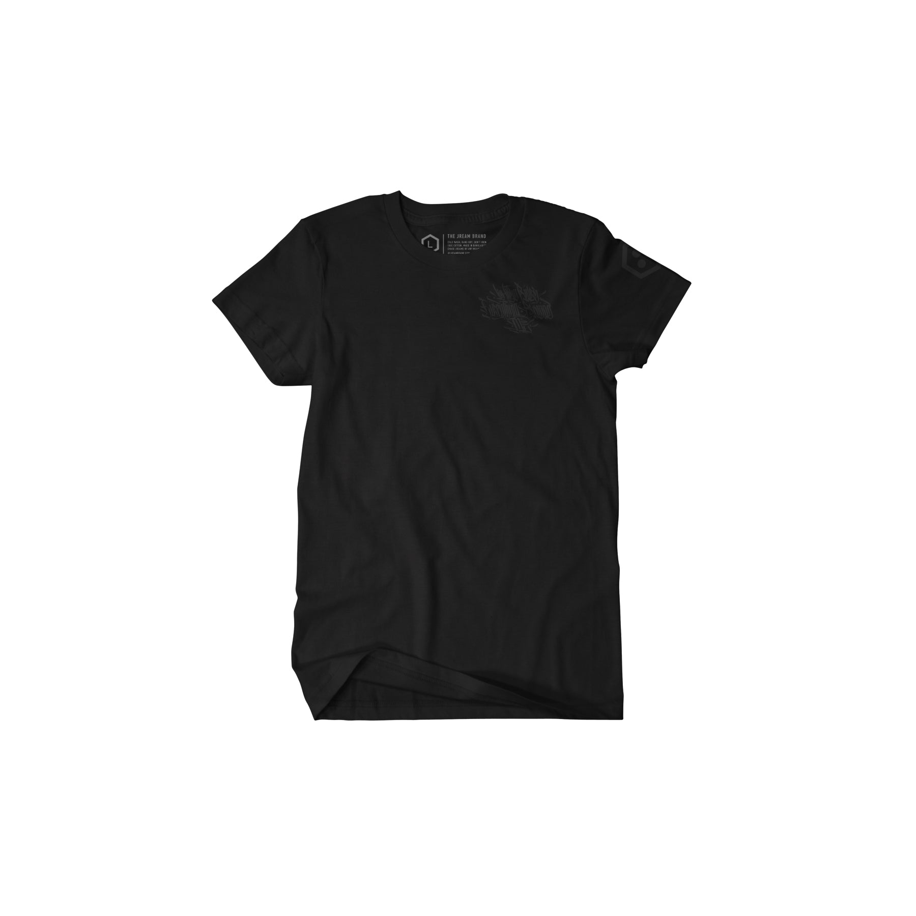 Black out J.R.E.A.M. Script Premium Tee