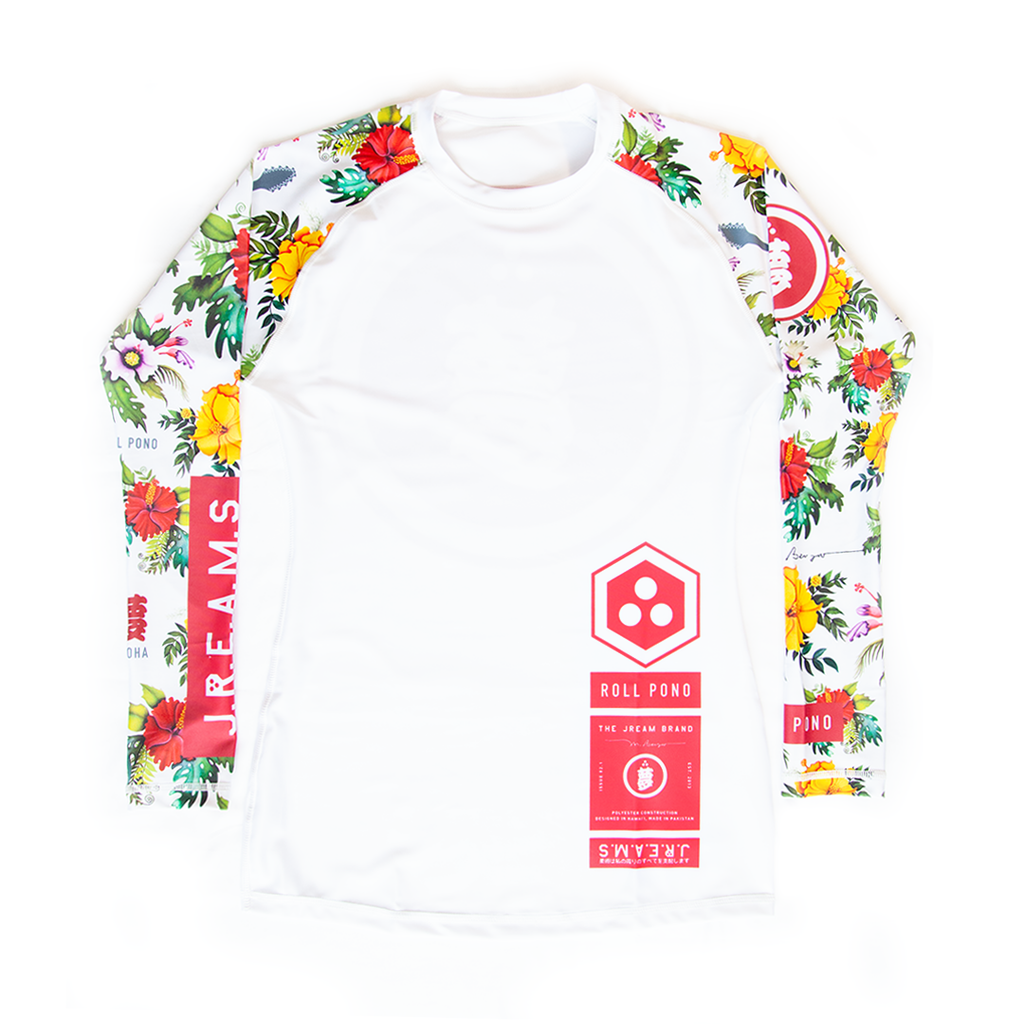 Issue: 02 Roll Pono Women's Rash Guard LS