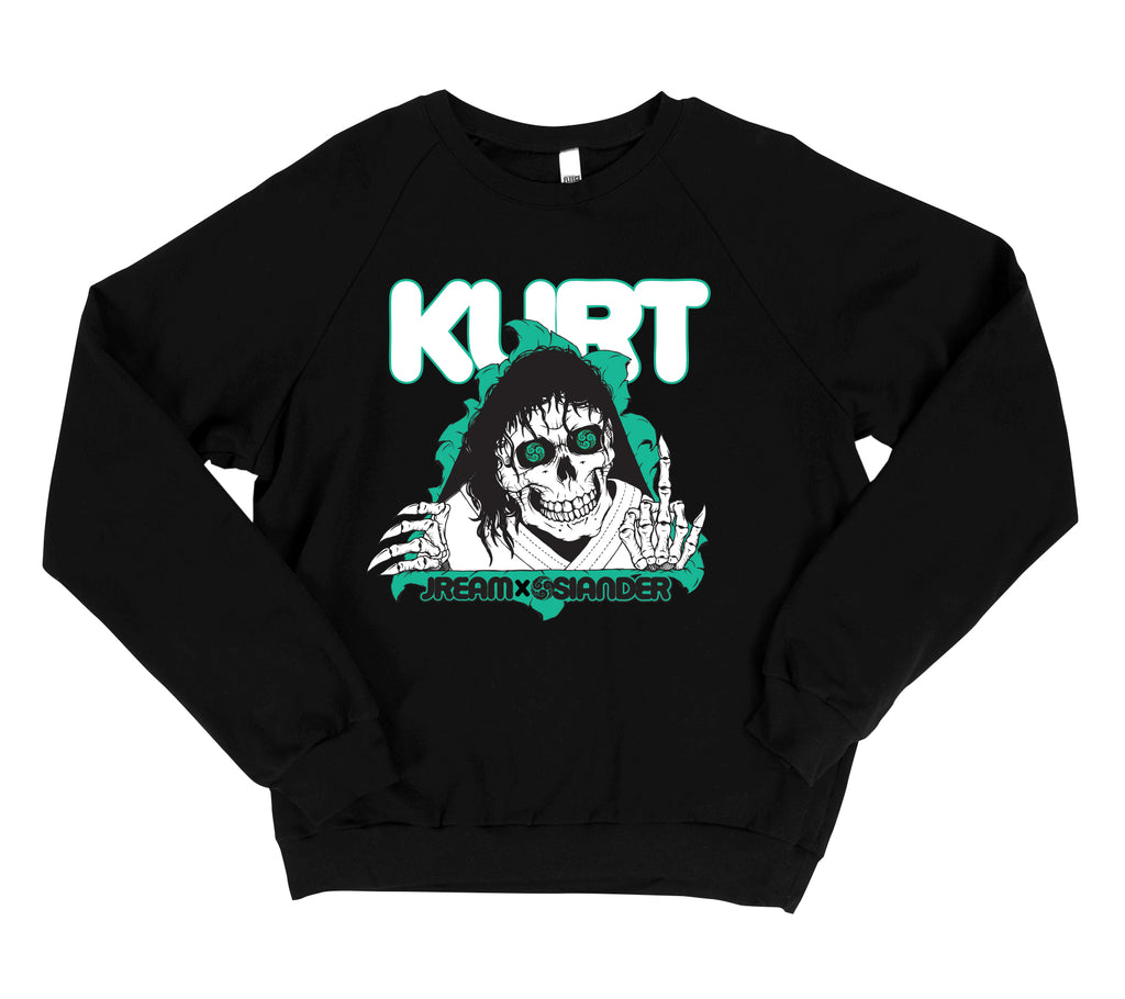Jream X Kurt Osiander—The Ripper Raglan Sweatshirt