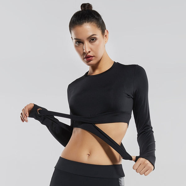 Valentine Fitness Crop Tops