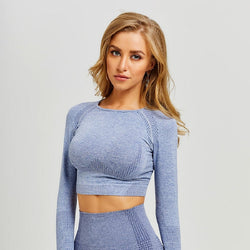 Mirielle Fitness Crop Tops