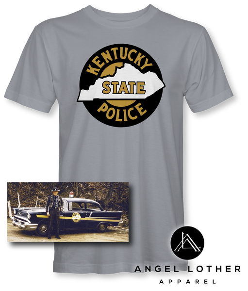 Vintage Kentucky State Police Seal Short-Sleeve Unisex T-Shirt