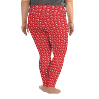 Boyd County All-Over Print Plus Size Leggings