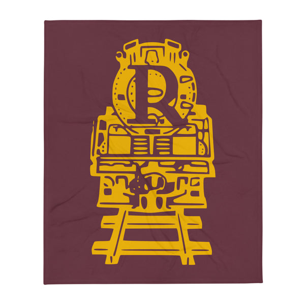 Russell 1950 Revilonian Train Throw Blanket