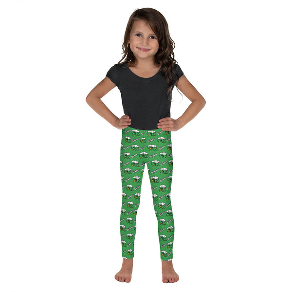 Ceredo Kenova All-Over Print Kid's Leggings 2T-7
