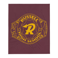 Russell Class Ring Throw Blanket