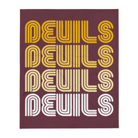 Russell Devils 4X Throw Blanket