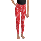Boyd County All-Over Print Youth Leggings 8-20