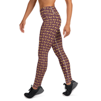 Russell All-Over Print Yoga Pants
