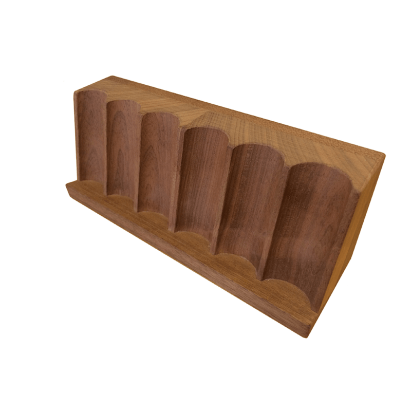 Chip Rack Mahogany