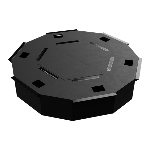 Slot Base Hexagon
