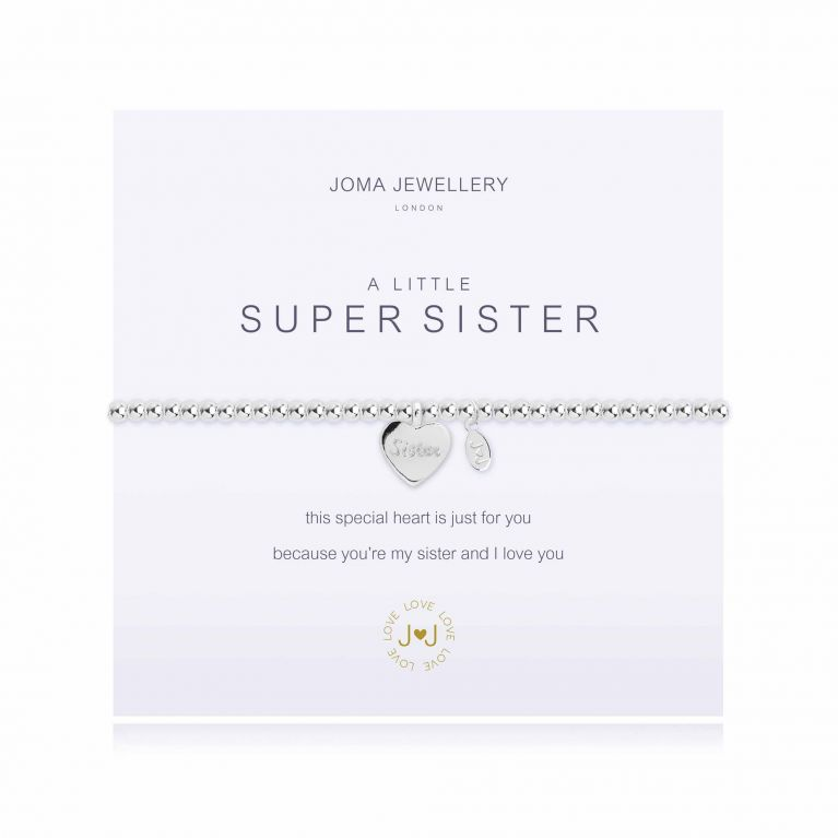 A LITTLE SUPER SISTER - BRACELET