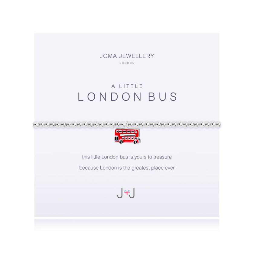 A LITTLE LONDON BUS - BRACELET