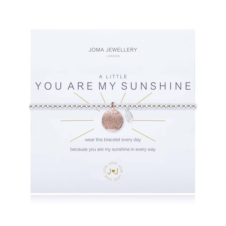 A LITTLE YOU ARE MY SUNSHINE - BRACELET
