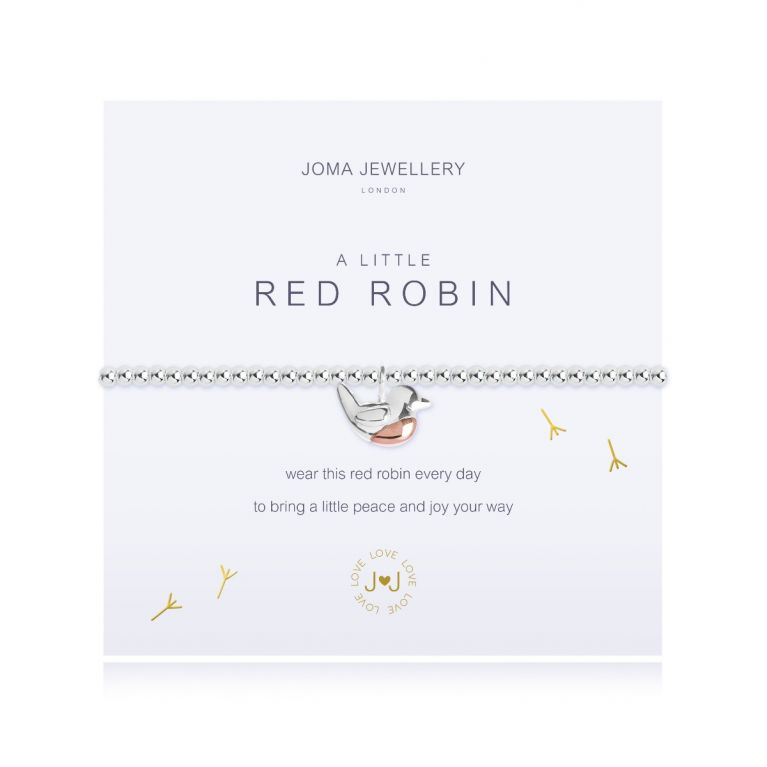 A LITTLE RED ROBIN - BRACELET