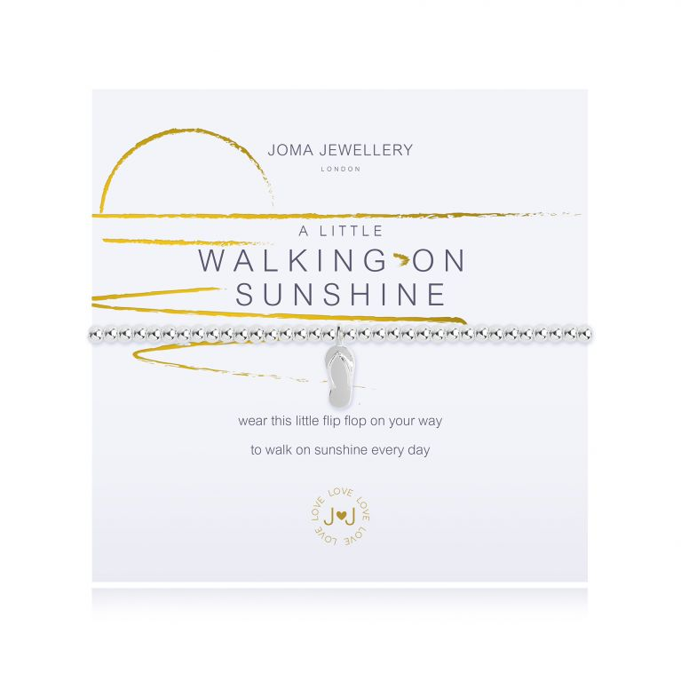 A LITTLE WALKING ON SUNSHINE - BRACELET