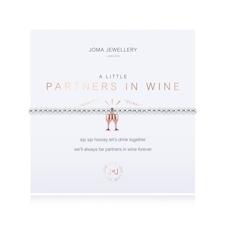 A LITTLE PARTNERS IN WINE - BRACELET
