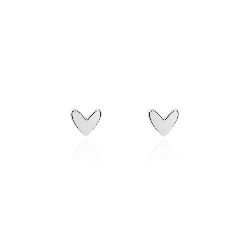 TREASURE THE LITTLE THINGS - WITH LOVE X - SILVER EARRING BOX