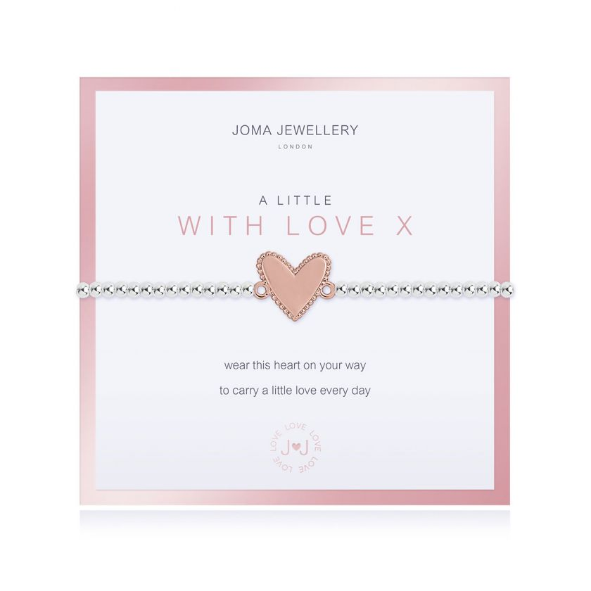 BEAUTIFULLY BOXED A LITTLES - WITH LOVE - BRACELET