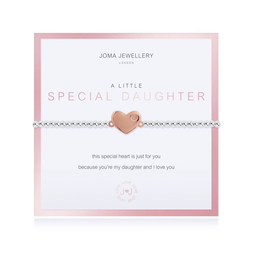 BEAUTIFULLY BOXED A LITTLES - SPECIAL DAUGHTER - BRACELET
