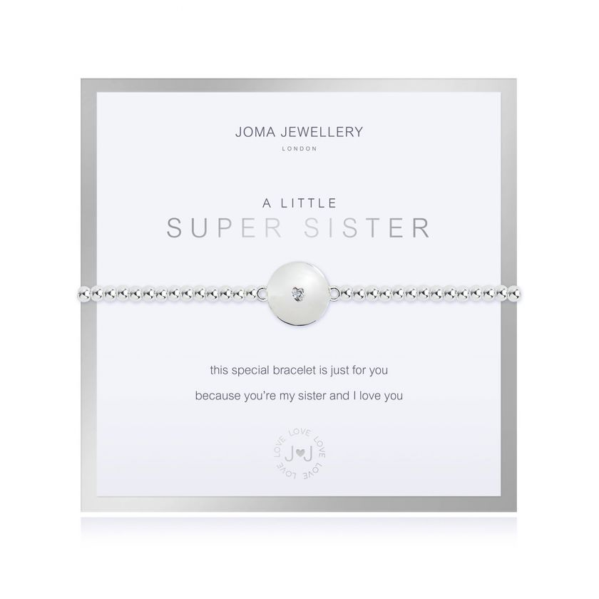 BEAUTIFULLY BOXED A LITTLES - SUPER SISTER - BRACELET