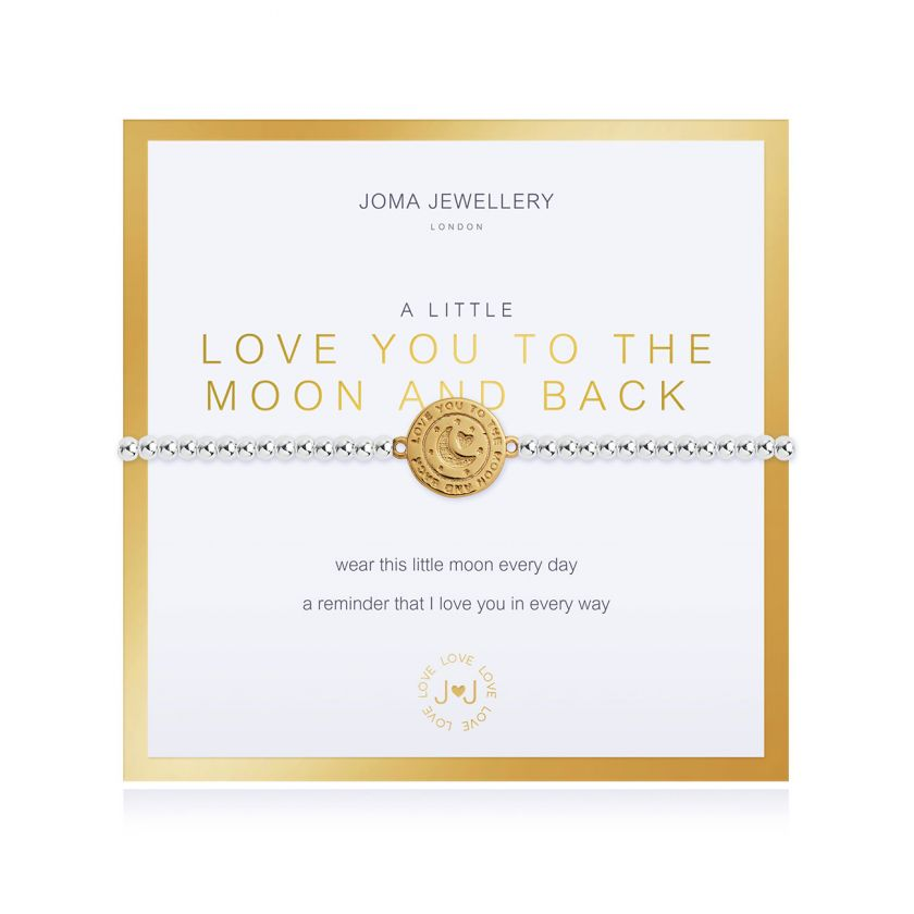 BEAUTIFULLY BOXED A LITTLES - LOVE YOU TO THE MOON AND BACK - BRACELET