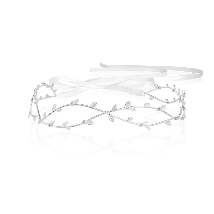 HAPPY EVER AFTER HAIR ACCESSORIES - CZ WAVE HAIR CROWN