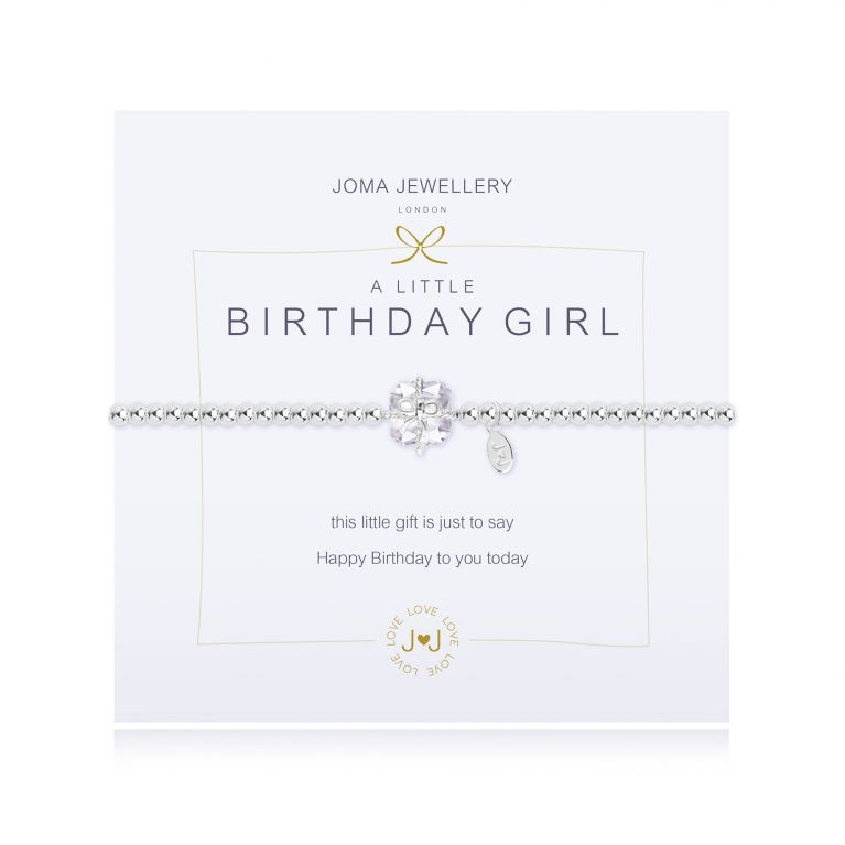 A LITTLE BIRTHDAY GIRL CRYSTAL - BRACELET