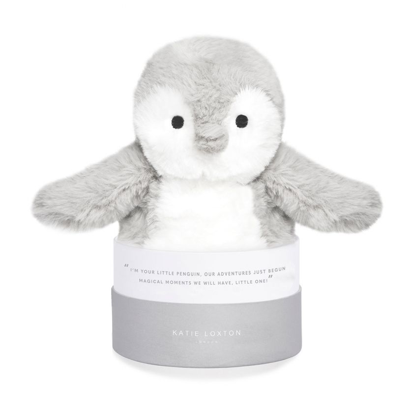 PENGUIN BABY TOY - YOU'RE MAGICAL - GREY