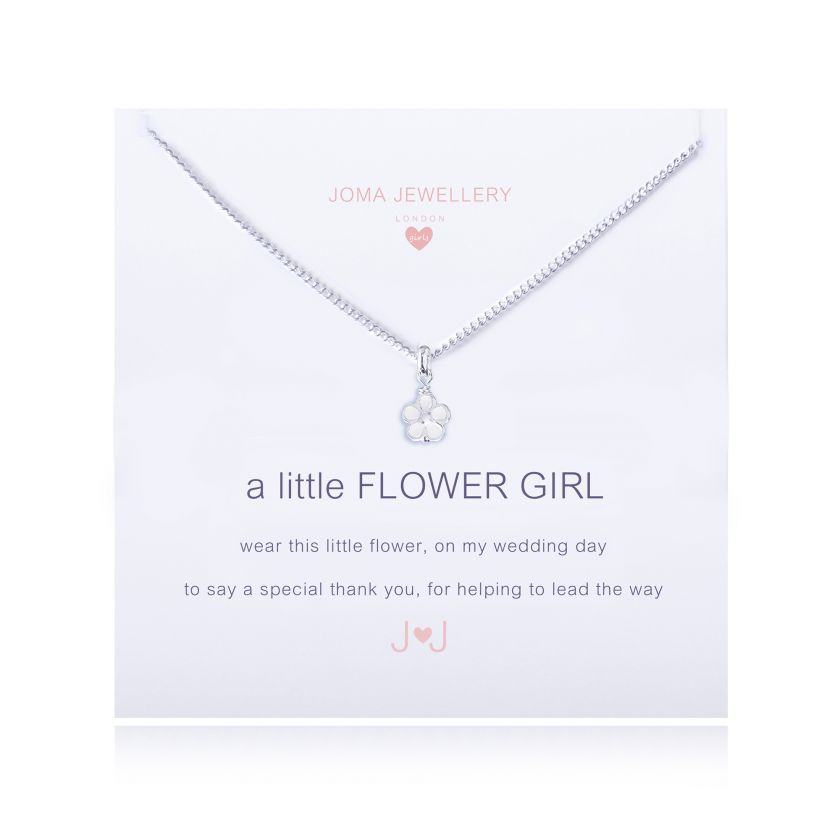 CHILDREN'S A LITTLE FLOWER GIRL - NECKLACE