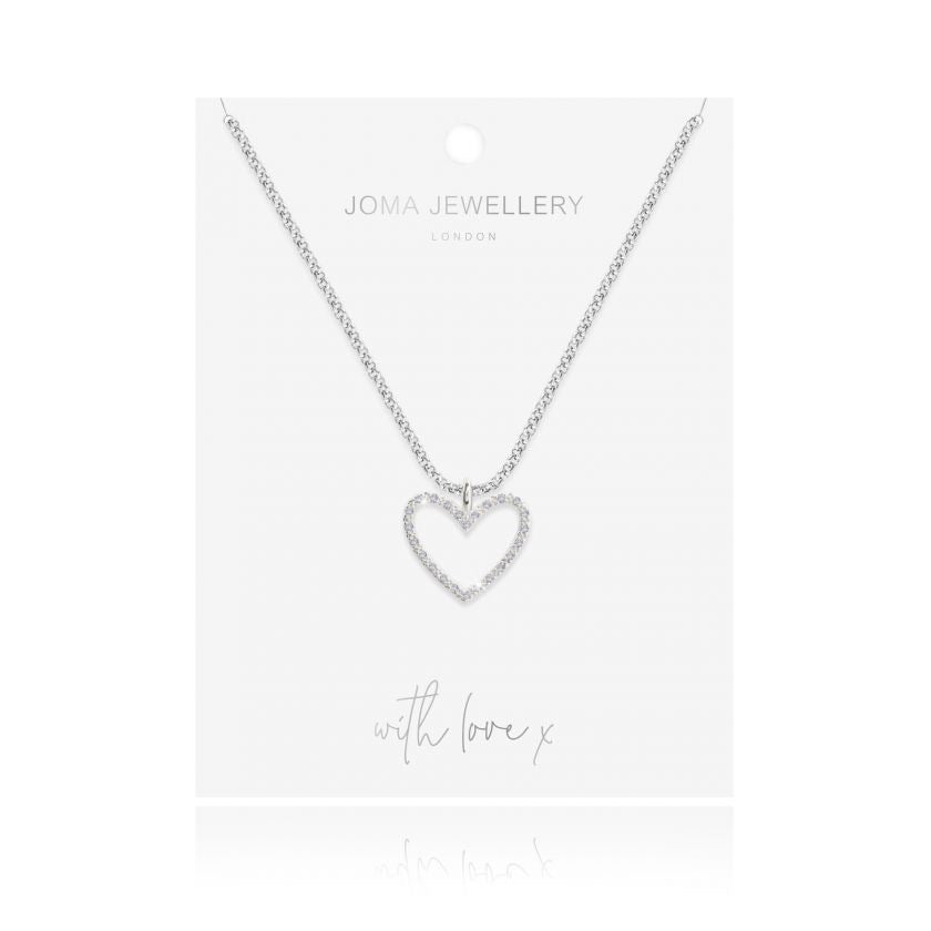 EVIE HEART NECKLACE