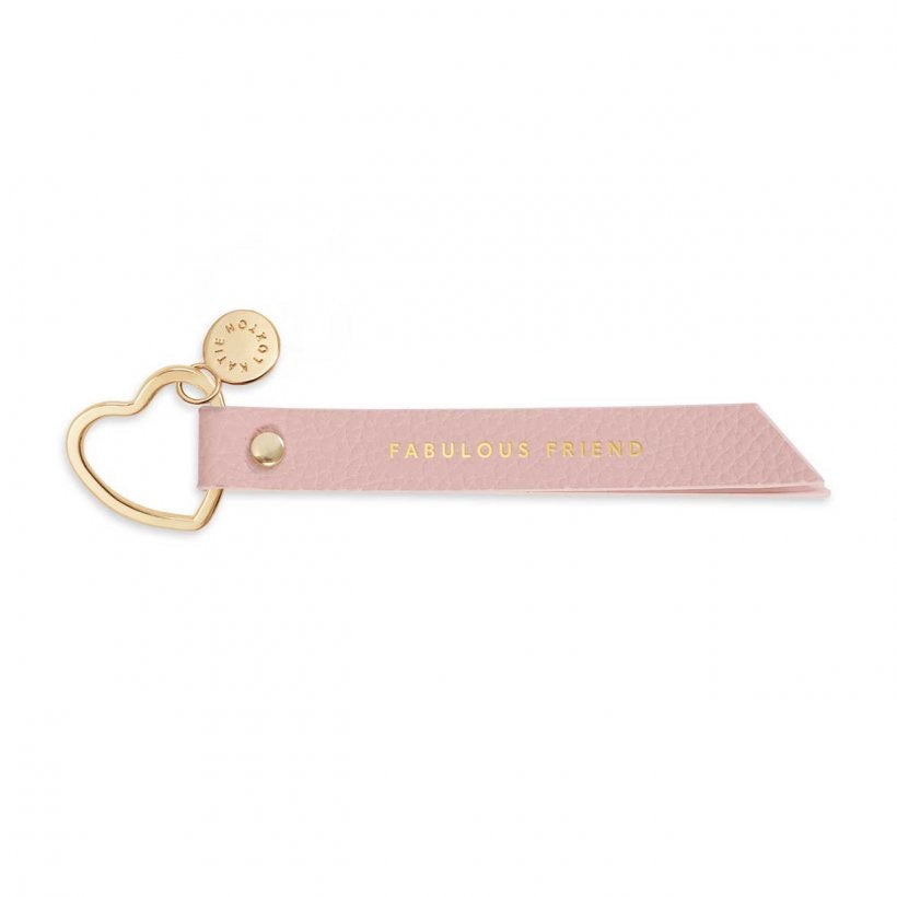 FLAG KEYRING - FRIEND - PINK