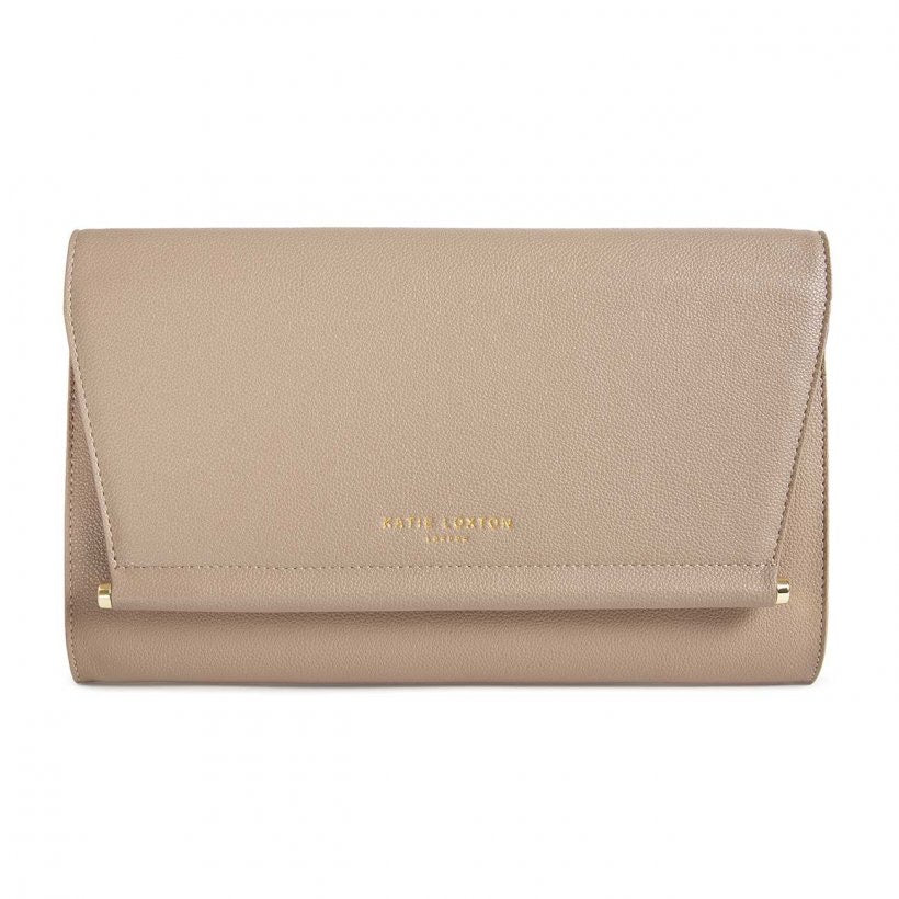 AVA CLUTCH - TAUPE