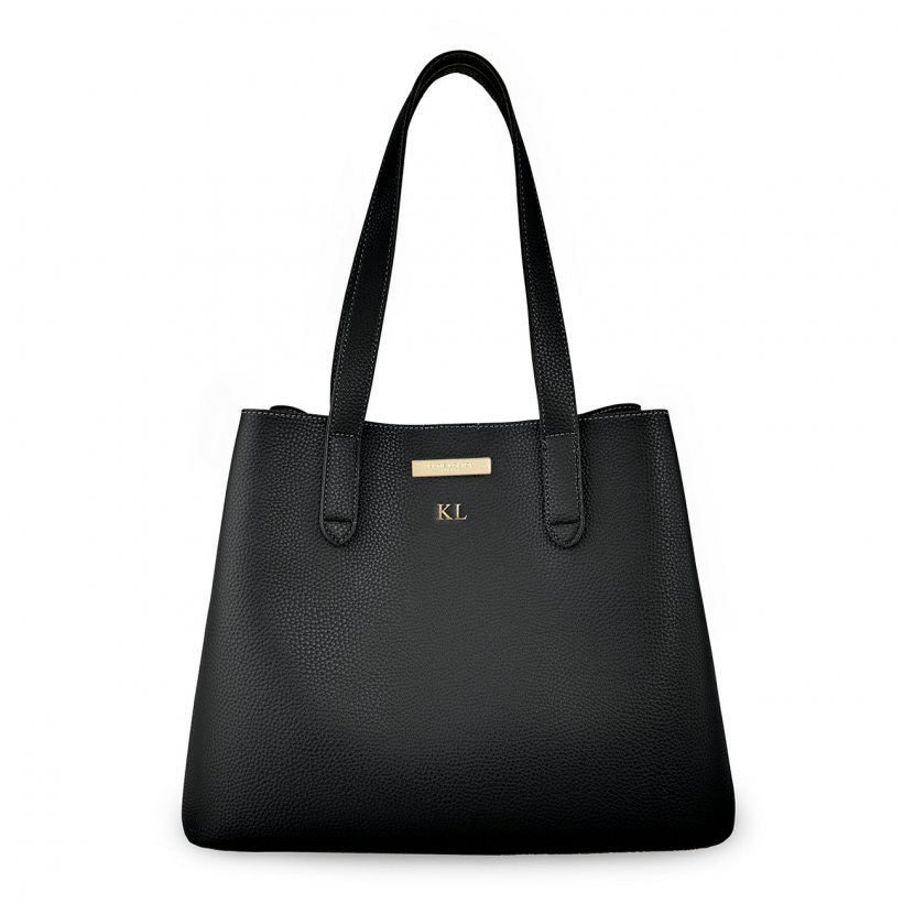 RILEY SHOULDER BAG - BLACK