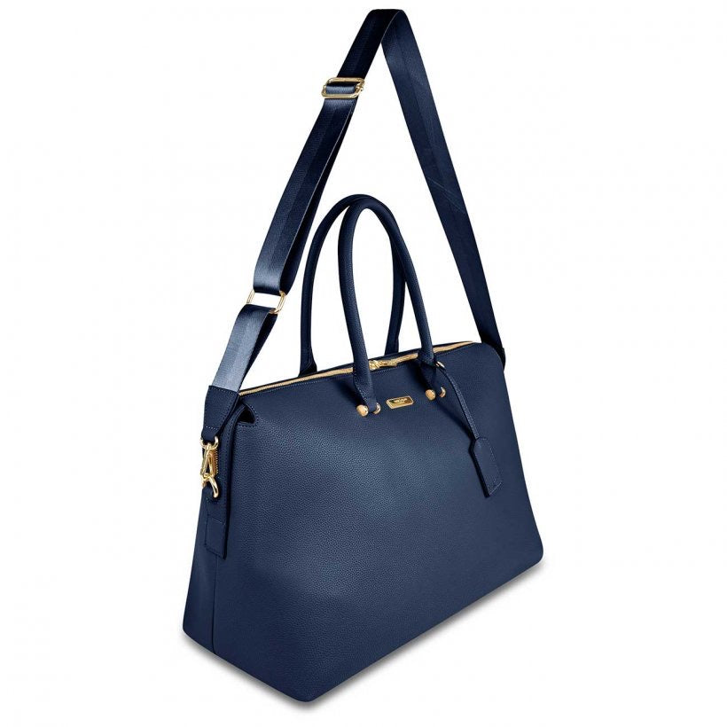 KENSINGTON WEEKEND BAG - NAVY BLUE