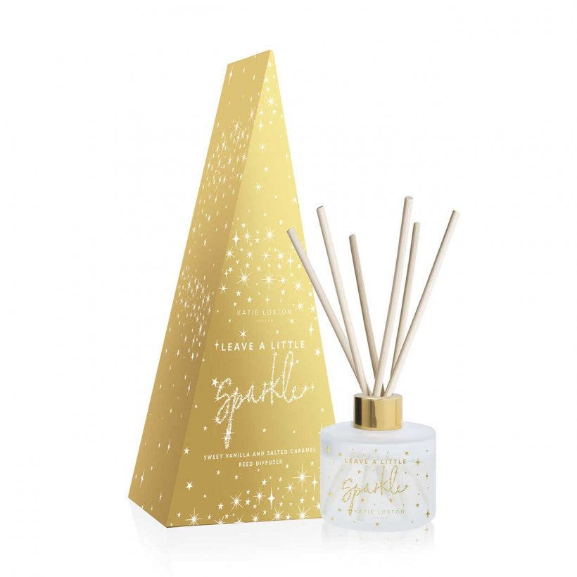 FESTIVE REED DIFFUSER | LEAVE A LITTLE SPARKLE - SWEET VANILLA AND SALTED CARAMEL
