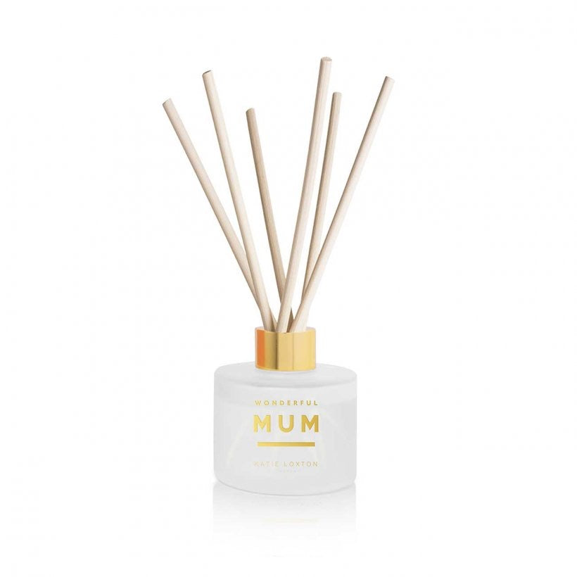 SENTIMENT REED DIFFUSER | WONDERFUL MUM - WHITE ORCHID AND SOFT COTTON