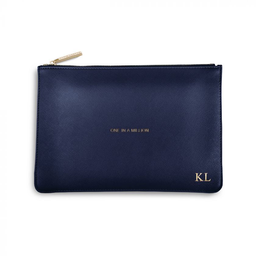 PERFECT POUCH - ONE IN A MILLION - NAVY