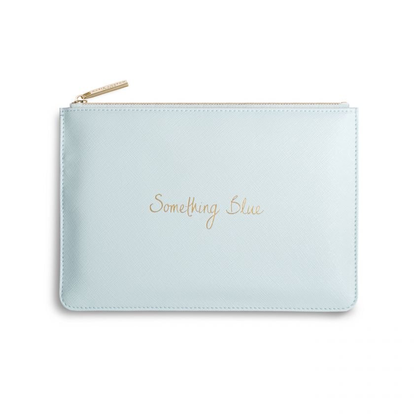 PERFECT POUCH - SOMETHING BLUE - PALE BLUE