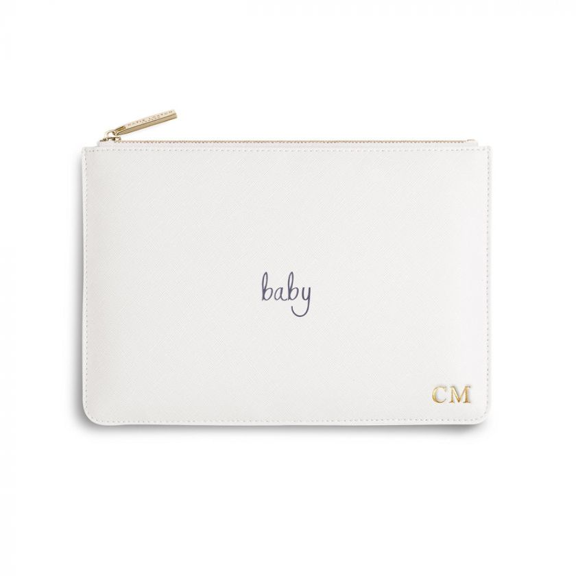 PERFECT POUCH - BABY - WHITE