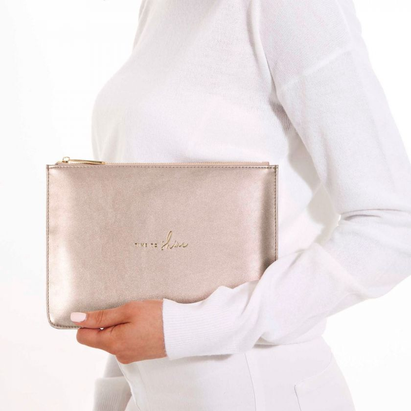 PERFECT POUCH - TIME TO SHINE - ROSE GOLD