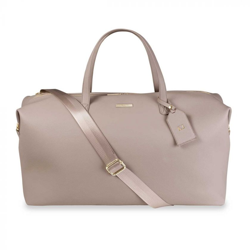 WEEKEND HOLDALL DUFFLE BAG - TAUPE
