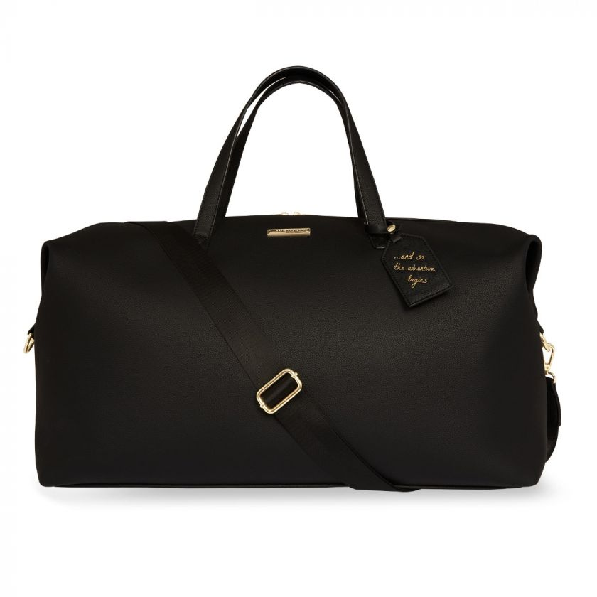 WEEKEND HOLDALL DUFFLE BAG - BLACK